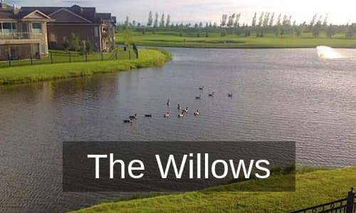 The Willows Golf Course Homes for Sale